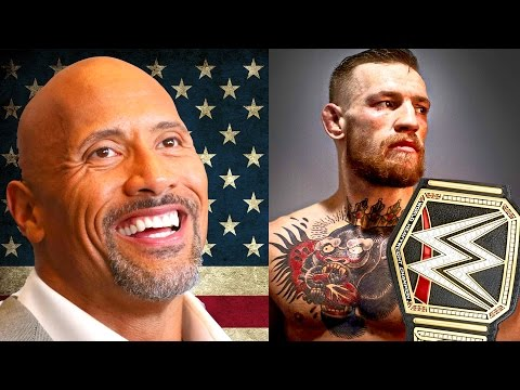 THE ROCK FOR PRESIDENT? CONOR MCGREGOR TO WWE?  (DIRT SHEET Pro Wrestling News Ep. 17)