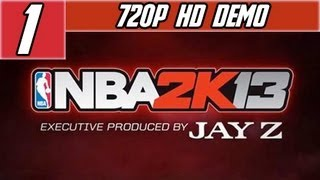 NBA 2K13: Demo Miami Heat Vs. Oklahoma City Thunder [HD] Match Xbox 360/PS3/PC