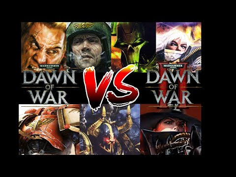 Dawn Of War 1 Vs Dawn Of War 2 (And Expansions)