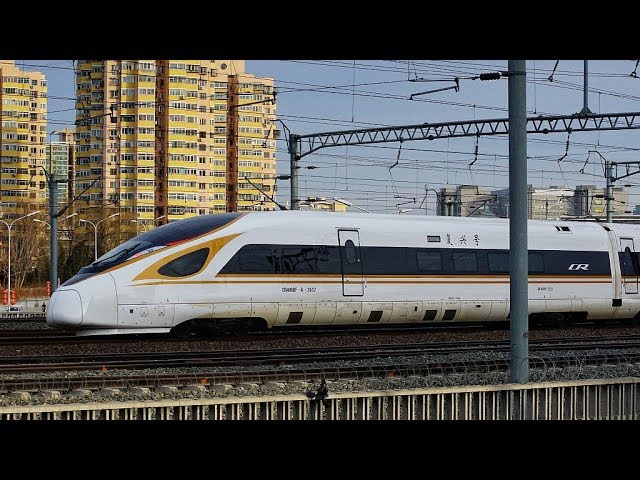 Have you ever seen drag racing by high-speed trains?