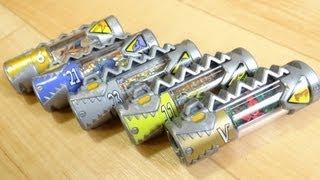 ガシャポン 獣電池04 レジェンド獣電池 マジレンジャーゲット!ディノチェイサー&フタバインも!  レビュー キョウリュウジャー thumbnail