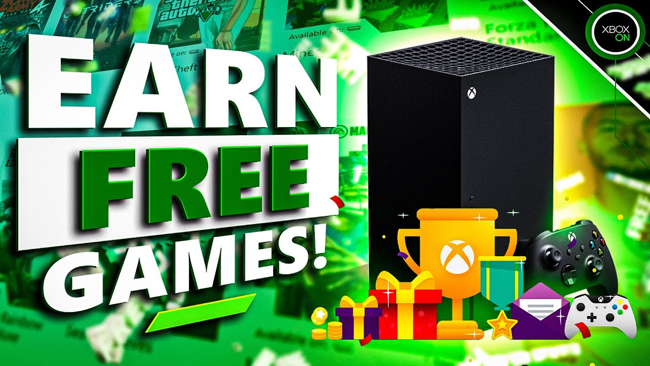GET FREE XBOX GAMES | What Are Microsoft Rewards Points + How To Spend Them