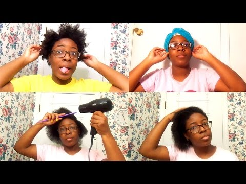Hair My Wash Dry And Straitening Routine Ft Argan Smooth Products Natural