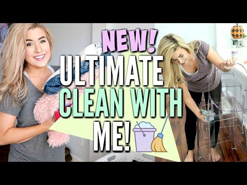 ✨NEW! ULTIMATE CLEAN WITH ME | SET THE TONE IN YOUR HOME | CLEANING MOTIVATION | Love Meg