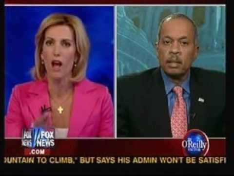 Laura Ingraham Gleeful About Town Hall Thuggery