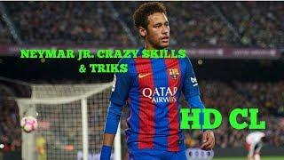 neymar jr crazy skills triks hd cl