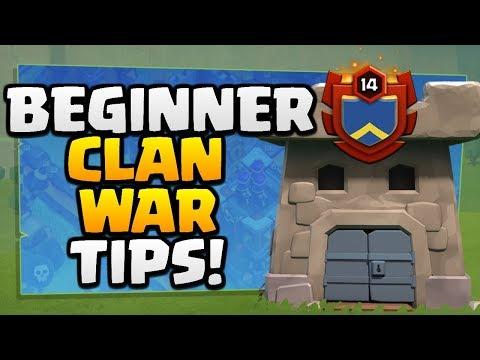 BEGINNER CLAN WAR TIPS In Clash Of Clans [2018]