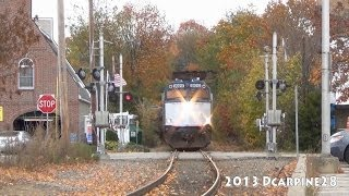 (HD) Amtrak Downeaster Ride & Railfanning In Dover, New Hampshire