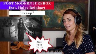 "Postmodern Jukebox feat. Haley Reinhart ""Creep"" REACTION & ANALYSIS by Vocal Coach/Opera Singer"