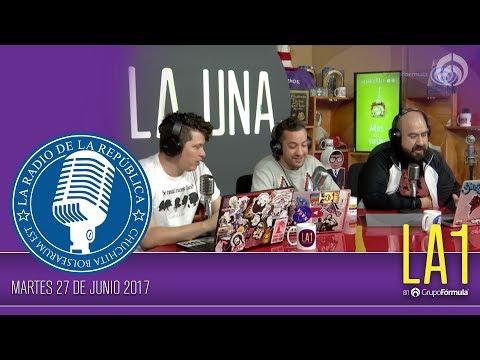#LA1 - La derecha de la izquierda - La Radio de la República - @ChumelTorres