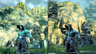 Darksiders 2 Ps3 Vs Ps4 Deathinitive Edition Graphics Comparison