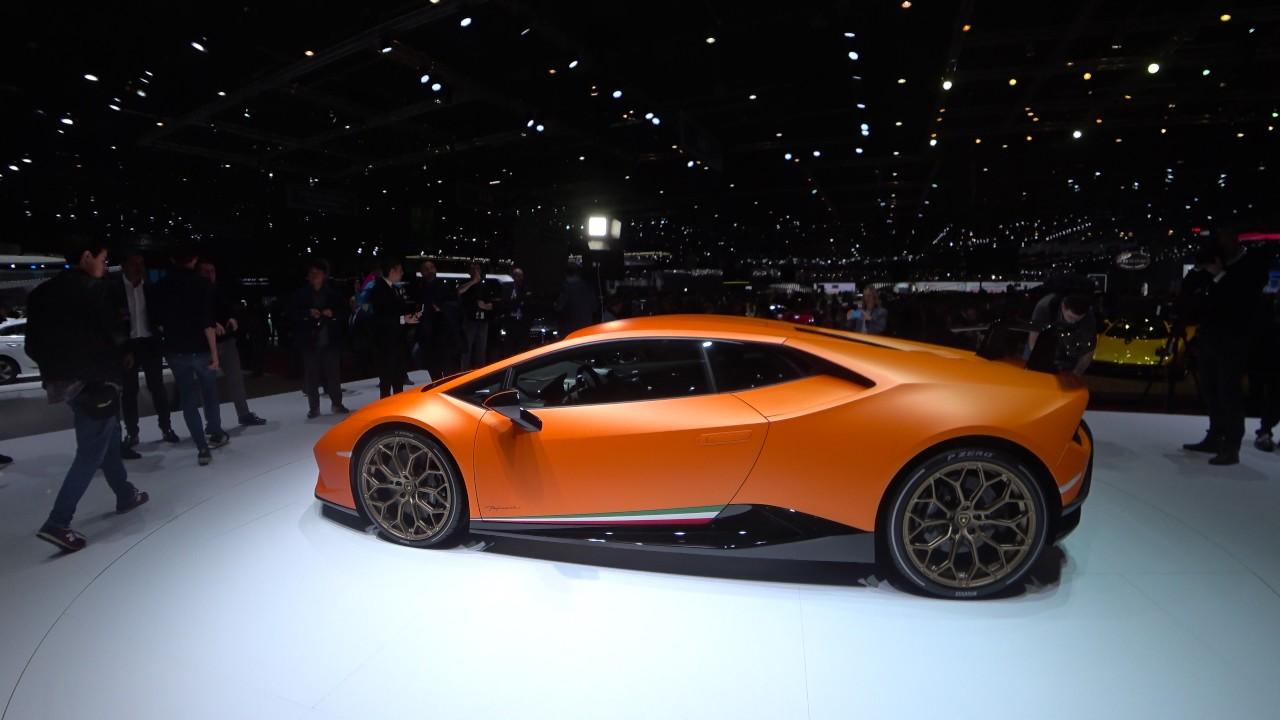 Lamborghini Huracan Performante Arancio Anthaeus Ad Personam