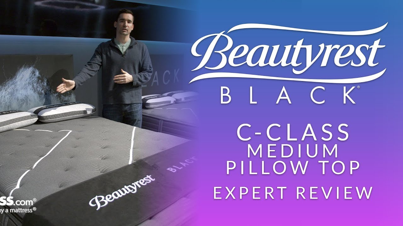 beautyrest black c class medium pillow top mattress expert review