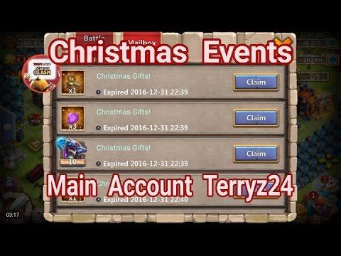 Castle Clash Christmas Events On My Main Account Terryz24