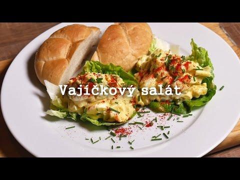 Domácí vajíčkový salát