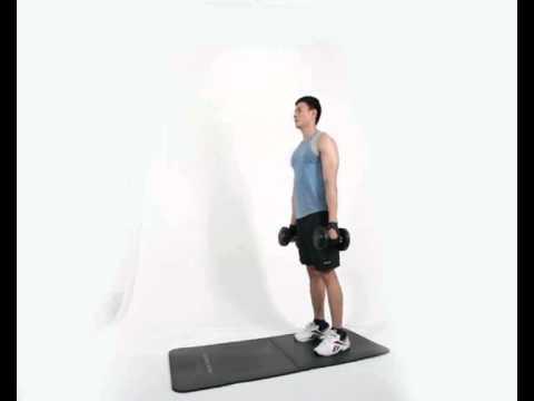 Gerakan Latihan Otot Betis - Calf Raise