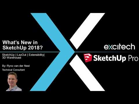 SketchUp Pro 2018- now available | 3D Modelling Software