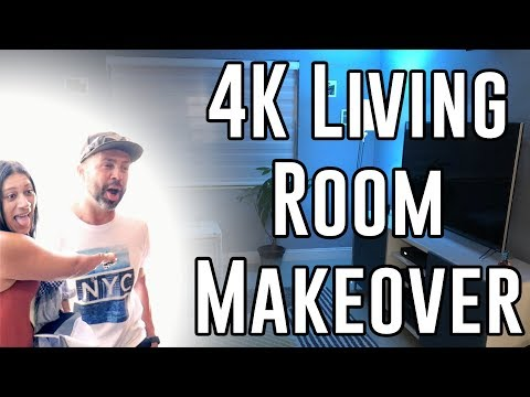 4K Living Room Makeover