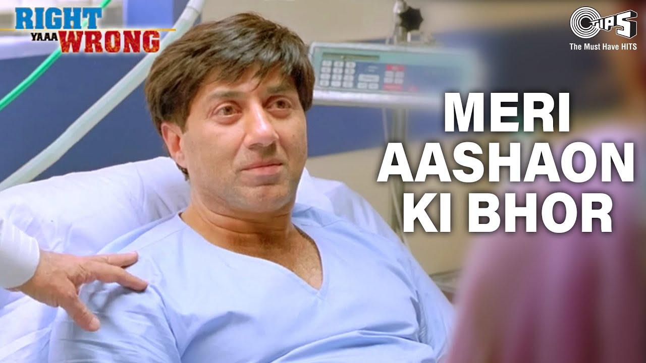 Download Meri Aashaon ki Bhor | Sunny Deol | Isha Koppikar | Right Ya Wrong | Amitraj | Hindi Song | Tips