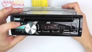 Автомагнитола JVC KD-R551EY с поддержкой Blackberry. Обзор avtozvuk.ua