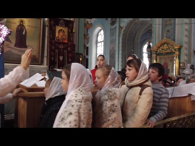 Воскресная школа при Свято-Озерянском храме. Рождество Христово 2019.