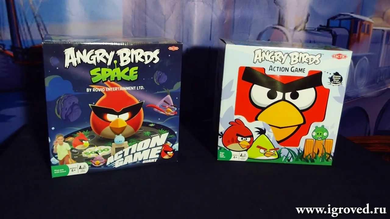 angry birds карточная игра правила