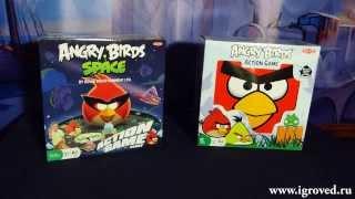 Angry Birds Space (Tactic). Обзор настольной игры от Игроведа