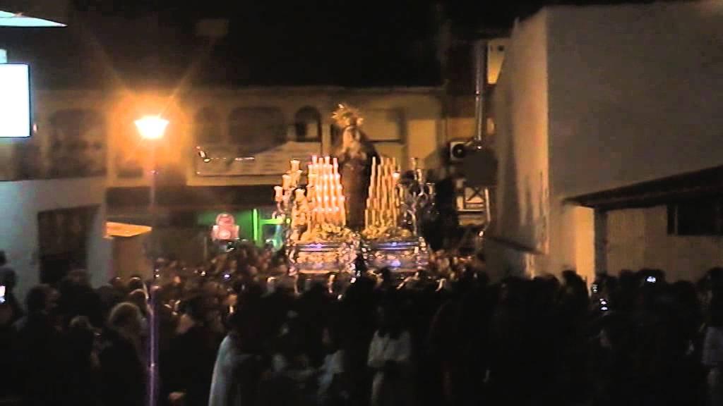 Virgen de los dolores puerto de la torre 2015 m laga youtube - Puerto de la torre ...