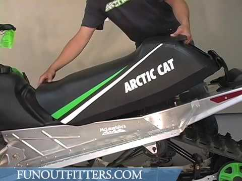 How To Change The Seat On An Arctic Cat Ext