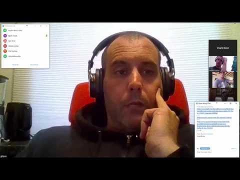 Onecoin discussion between Tim Curry, Bjorn Bjercke, Nikola Korbar and Igor Krnic