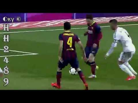 Real Madrid Barcelona 3-4 2014 → GOL Leo MESSI ← Real Madrid ...