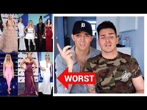 BEST AND WORST DRESSED 2017 VMAs! (Fashion Review)