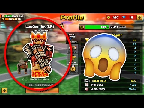 HACKING LosGaming's Pixel Gun 3D Account!