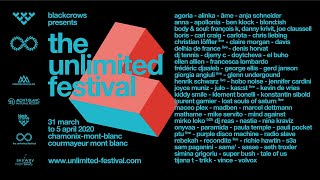The Unlimited Festival, Chamonix-Mont-Blanc & Courmayeur