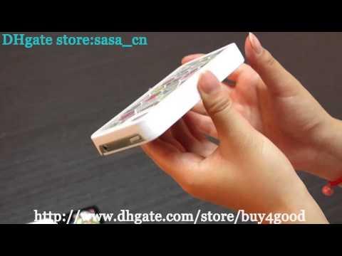 Iphone 4 5 Luxury Diamond Colorful Bling Swarovski Case Cover
