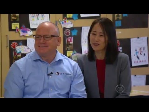 Marty Burbank on the CBS Evening News