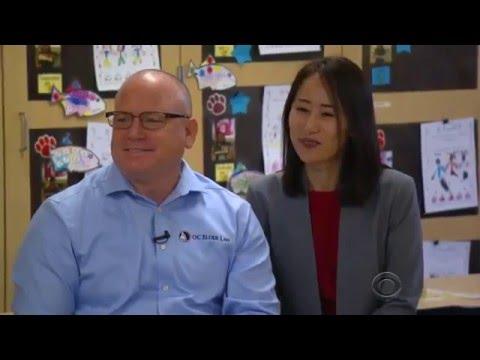 Marty Burbank on the CBS Evening News