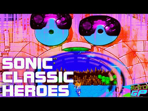 Sonic Classic Heroes running on a real Sega Genesis - Retro GP thumbnail