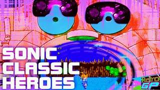 Sonic Classic Heroes running on a real Sega Genesis - Retro GP