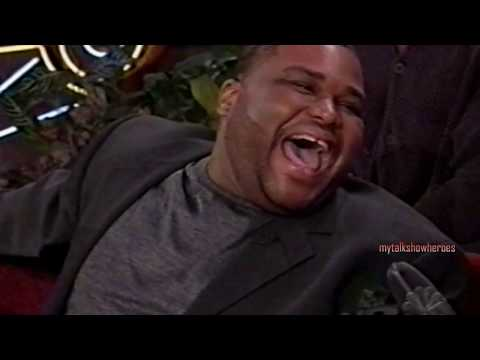ANTHONY ANDERSON has FUN with LENO