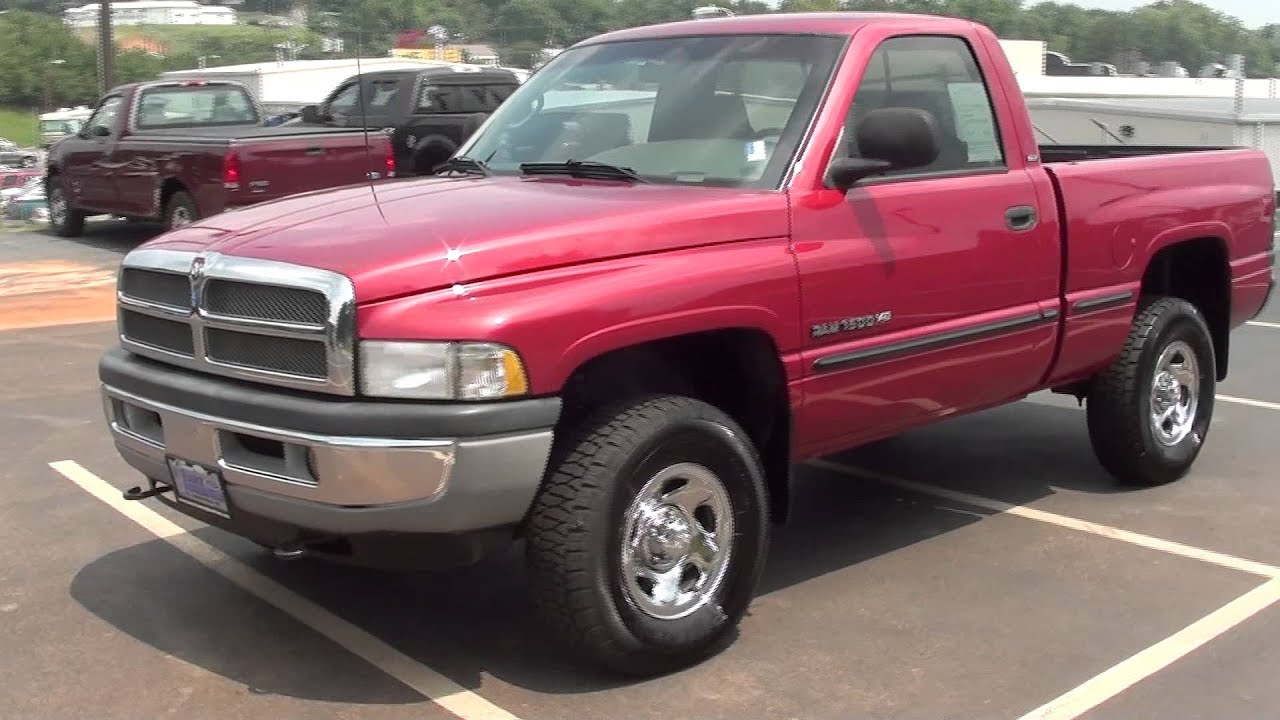 For Sale 1998 Dodge Ram 1500 Slt Laramie 4x4 Stk