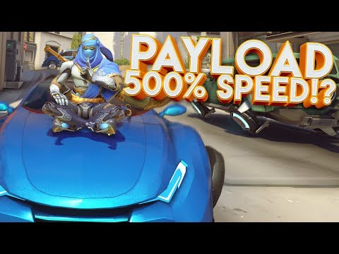 OVERWATCH 500% FASTEST PAYLOAD CUSTOM GAMEMODE!?