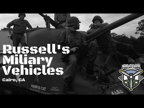 Military Collectors Episode 6: Russell's Military Vehicles and Restorations