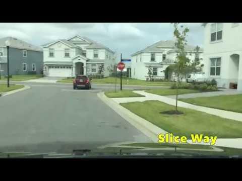 Florida Driving - Champions Gate Resort Tour (Oasis Club)