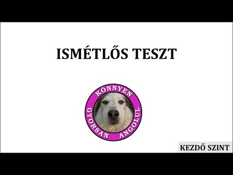 Ismétlős teszt