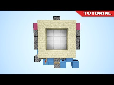 Minecraft 3x3 Spiral Door Compact And Fast Doovi