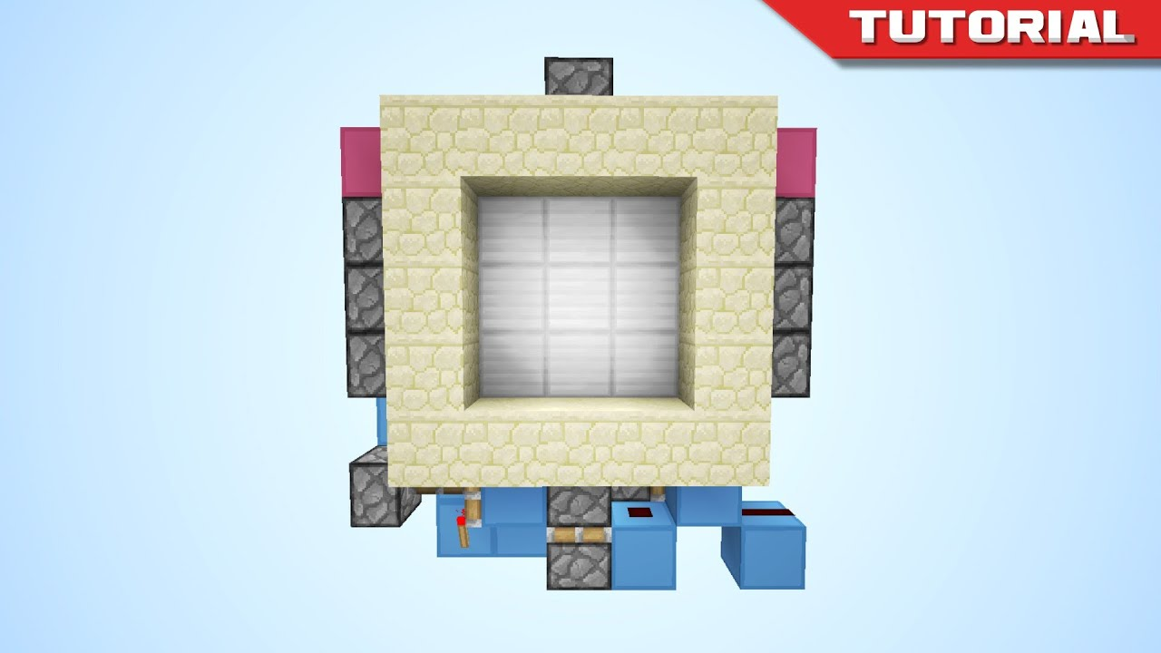 sc 1 st  YouTube & The Tiny 3x3 Piston Door [Redstone Tutorial] - YouTube pezcame.com