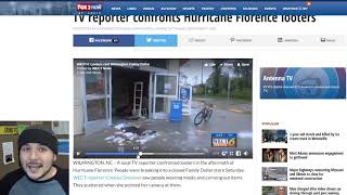 Looters Arrested After Hurricane, Far Left Defends Looting