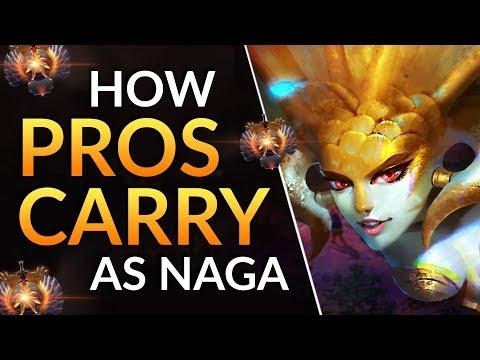 NAGA SIREN CARRY IS INSANE - Tips to CRUSH GAMES as Safelane Naga | Dota 2 Pro Guide