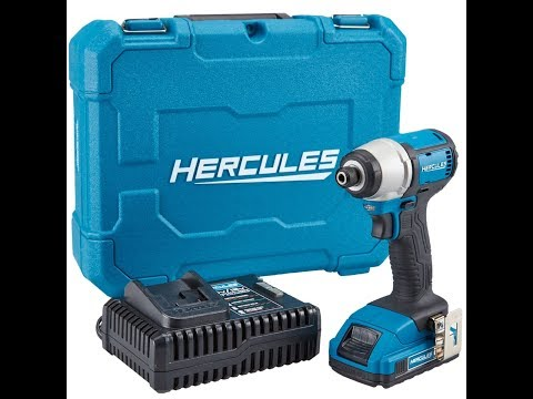 Hercules Cordless 20V 1/4 inch Hex Compact Impact Driver REVIEW